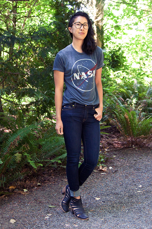 nasa shirt outfit - photo #14