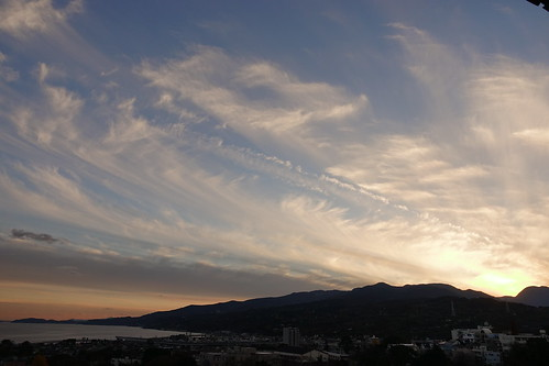 Odawara sky from Odawara castle tower 11