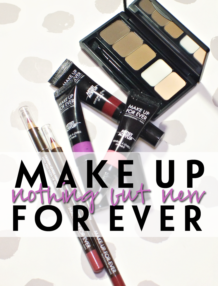 make up for ever nothing but new