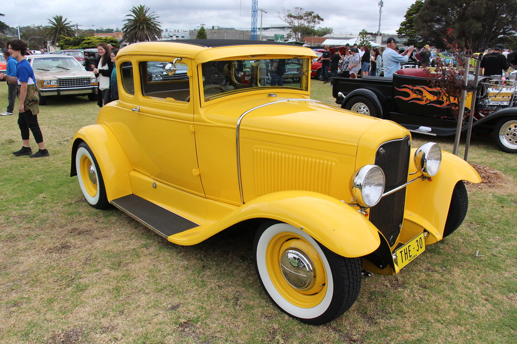 1930 ford model a coupe hot rod the model a built from. Black Bedroom Furniture Sets. Home Design Ideas