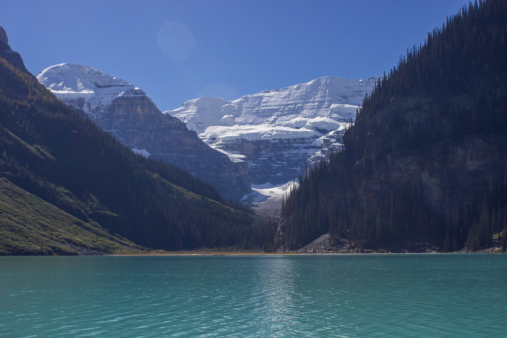 Kayaking on Lake Louise