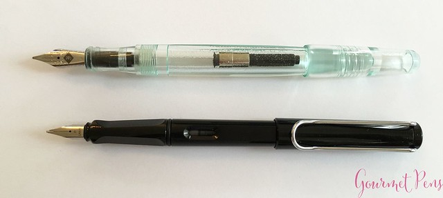 Review Franklin-Christoph Model 66 Antique Glass Fountain Pen @1901FC 6