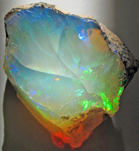 Hydrophane Opal Precious Opal Dried Out Tertiary Ethio