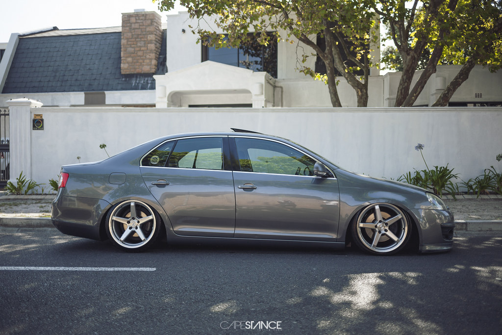Waseem's Freshly bagged Jetta MkV | Capestance Air | Cape Stance | Flickr