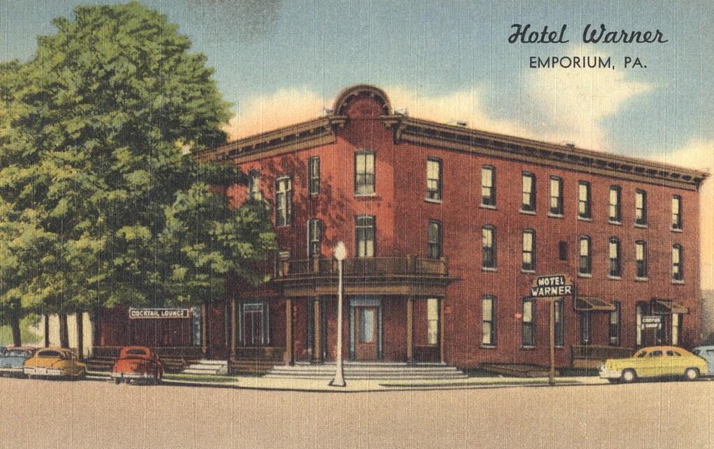 Hotel Warner - Emporium, Pennsylvania