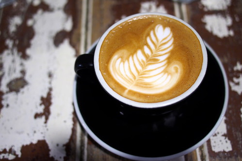 Flat White Coffee and Brunch in Melbourne:Manchester Press (Rankins Lane)