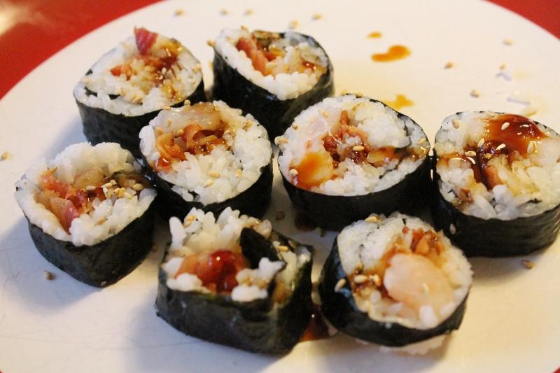Sushi bar, rolled