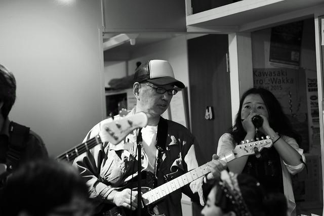 KOKOKAYO with Yoji Hamada and ずにあ live at Mviringo, Kawasaki, 21 Jun 2015. 116