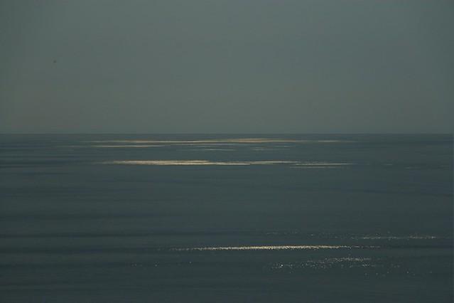 Pollara: riflessi sul mare