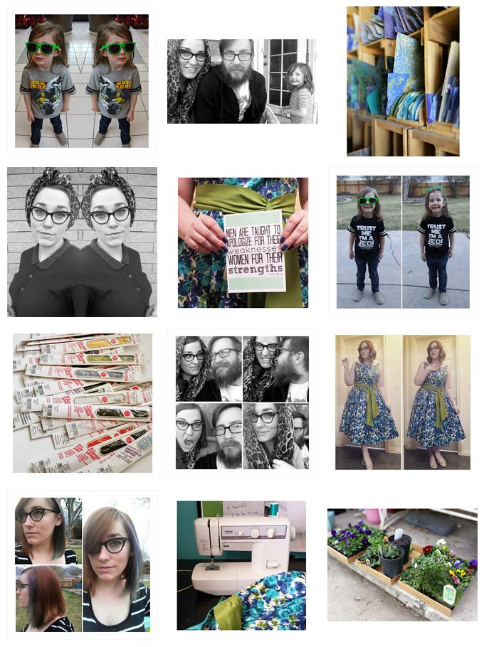 Instagram Collage - March 2015