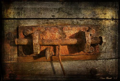 Rusty old Latch