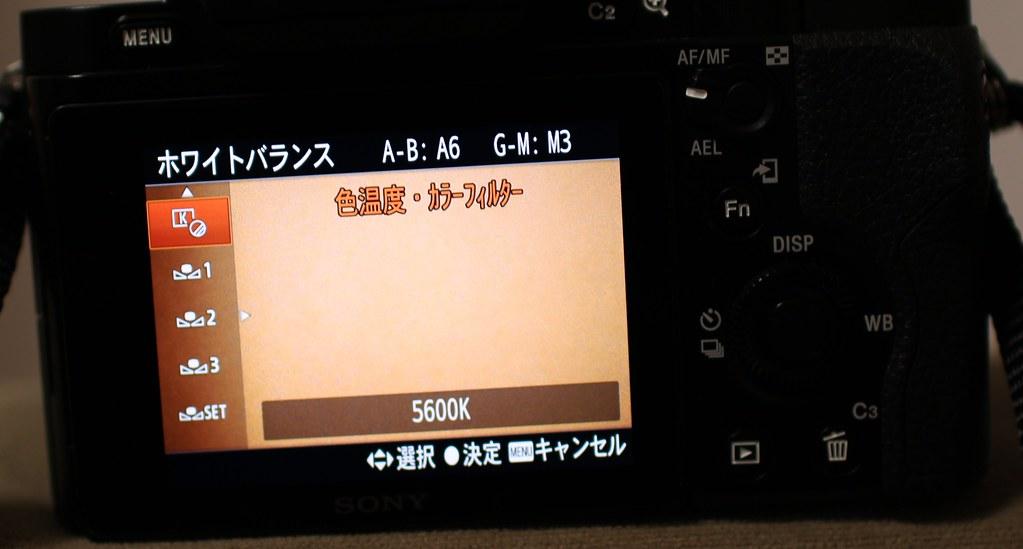 ホワイトバランス_色温度カラーフィルター