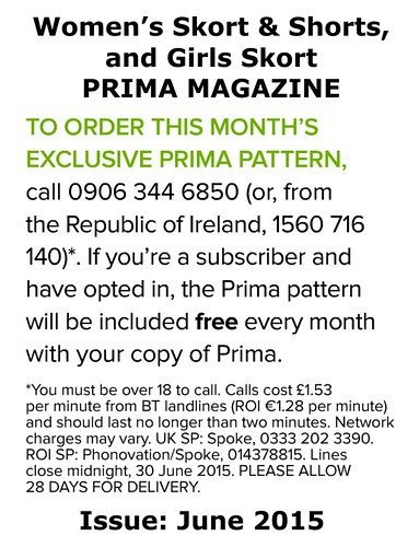 Prima Magazine - Pattern, June 2015 (04)