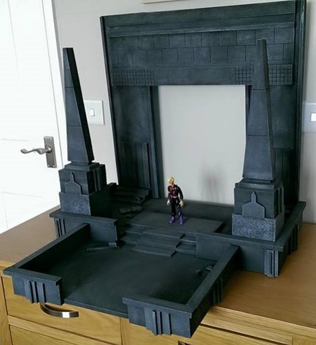 Custom made dioramas by Louise Townend - Ghostbusters