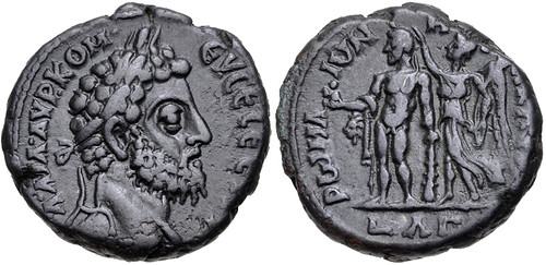 Lot 398 Commodus as Herakles Tetradrachm Type
