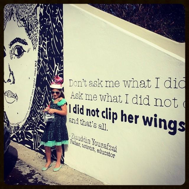 An inspiring girl.