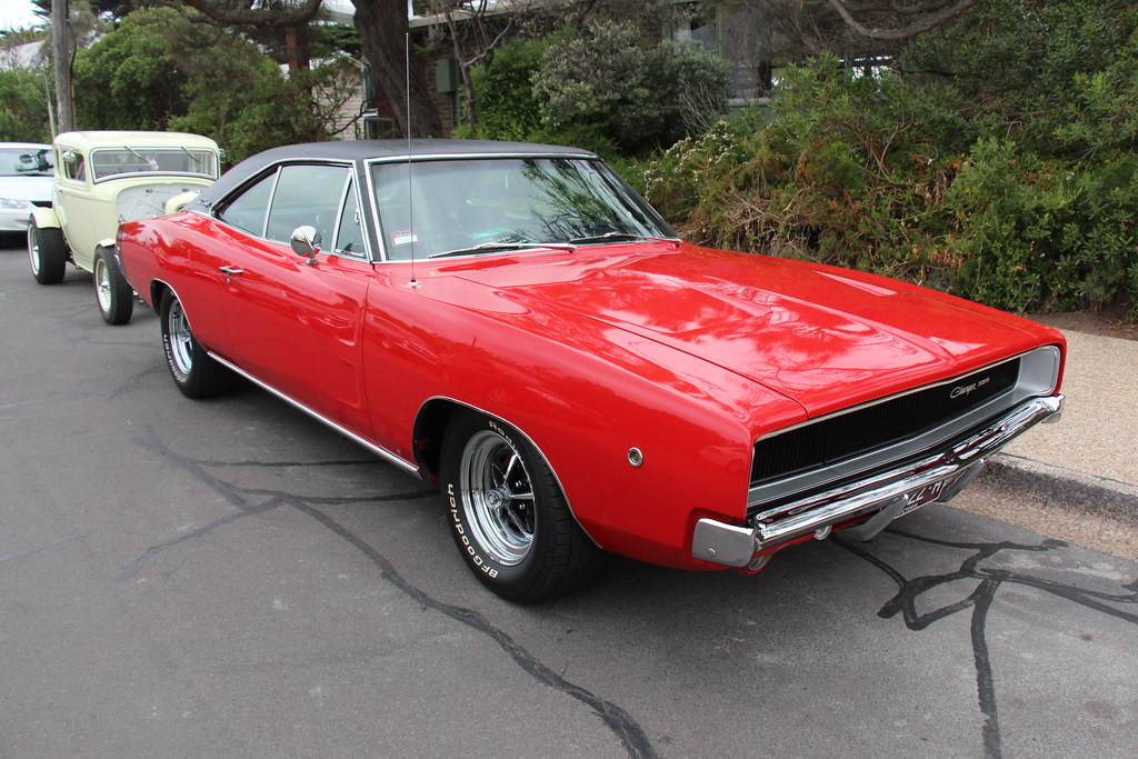 1968 Dodge Charger Se Hardtop Charger Red Dodge Offered