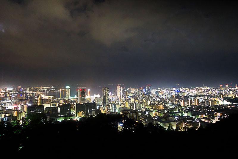神戸市 1000万ドルの夜景