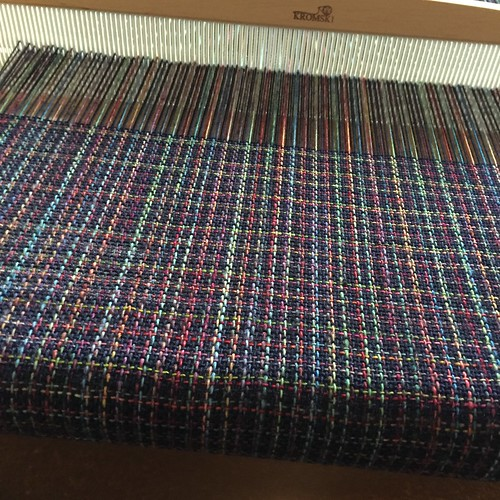 Eighth weaving project