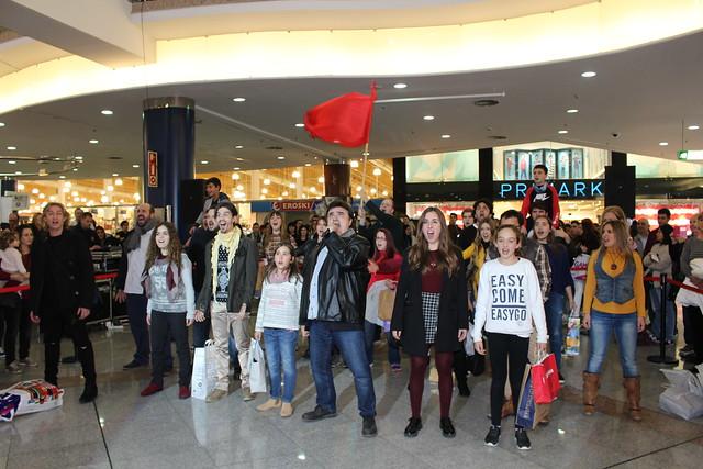 Flashmob Los Miserables