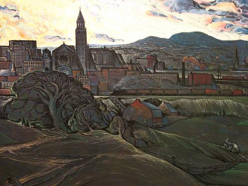 Marc-Aurèle Fortin, Commencement d'orage sur Hochelaga