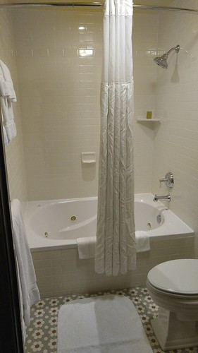 Bathroom with Whirlpool Tub at the Arctic Club Seattle