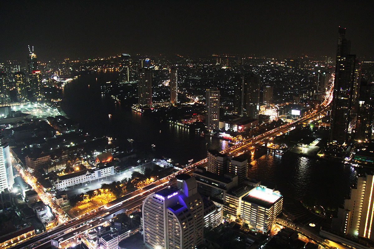 Bangkokin kattoterassit Sky Bar