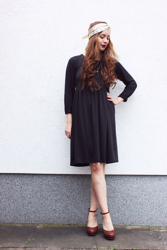 midi dress black zara asos topshop
