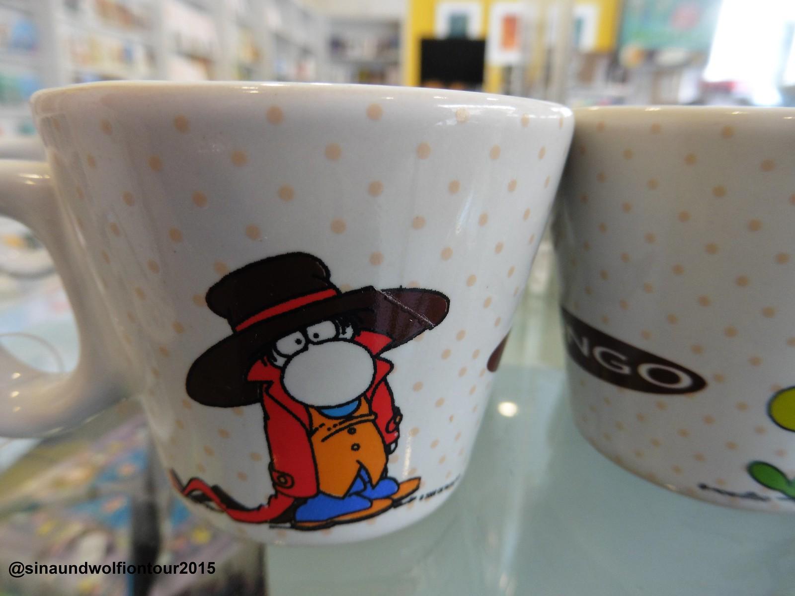 Espresso Tassen, Karikaturmuseum Krems, Shop
