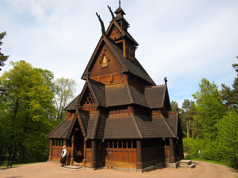 Stave Church at the Norsk Folkemuseum in Oslo