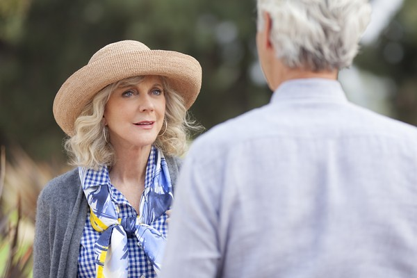 Blythe Danner is perfect in the bittersweet I'LL SEE YOU IN MY DREAMS.