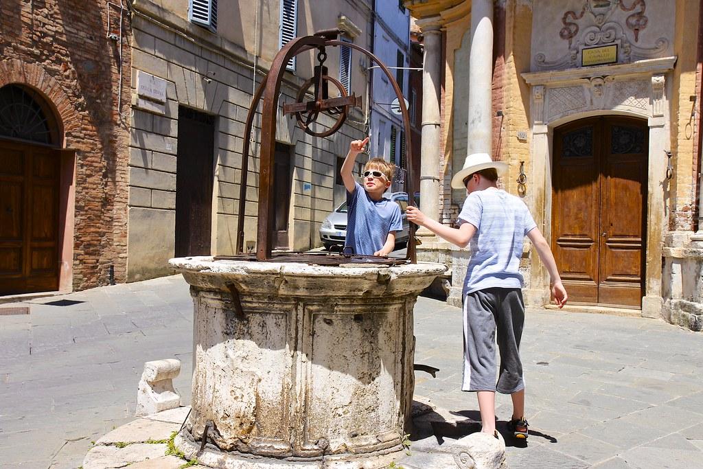 Italia Siena, Piazza del Campo ,Rinidia Bio