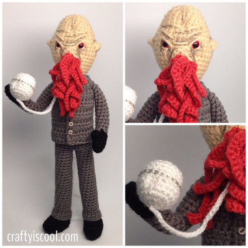 Doctor Who Crochet Amigurumi from CraftyIsCool - Ood