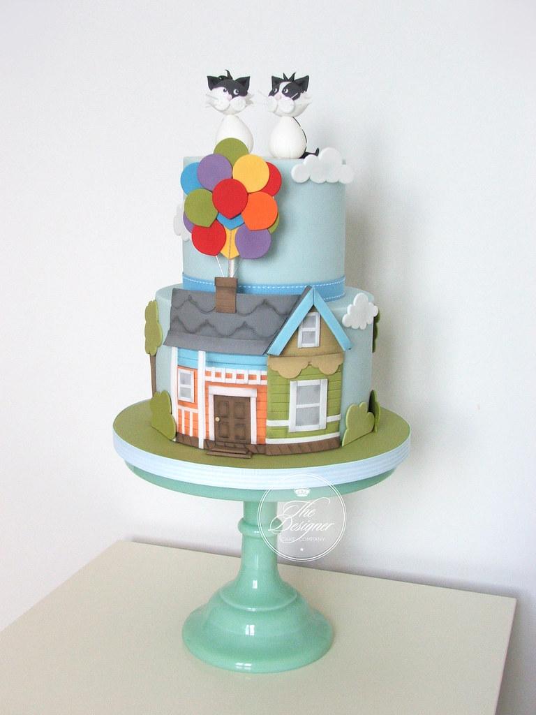 Pixar Up Birthday Cake Isabelle Bambridge Flickr
