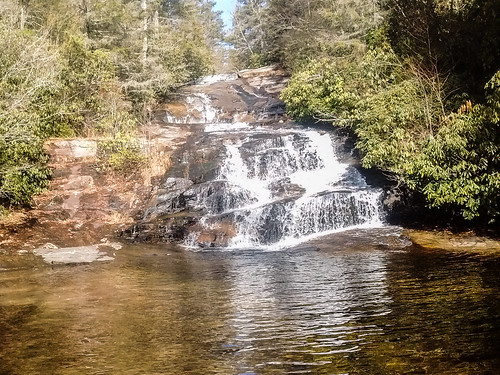A Secret Waterfall In Dupont State Forest