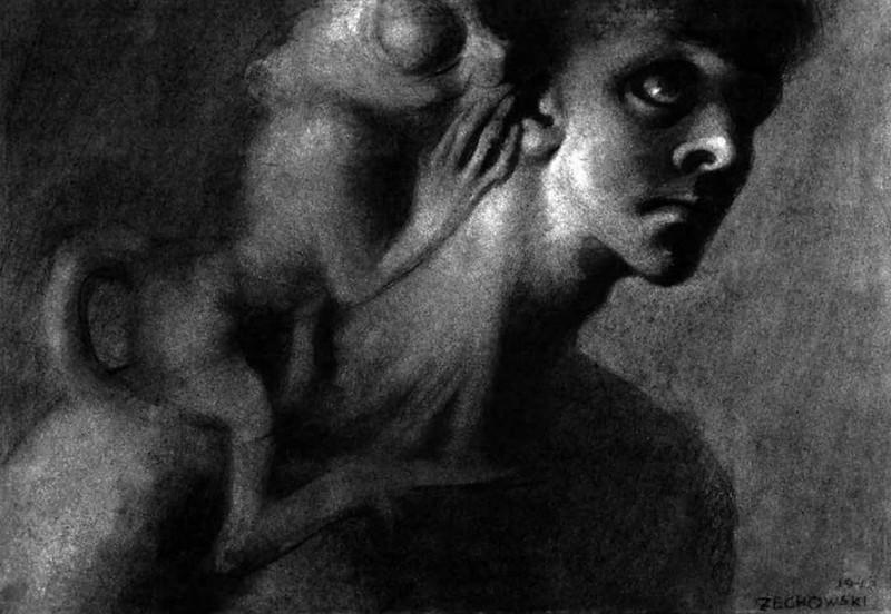 Stefan Zechowski - Unobtrusive Thought, 1943