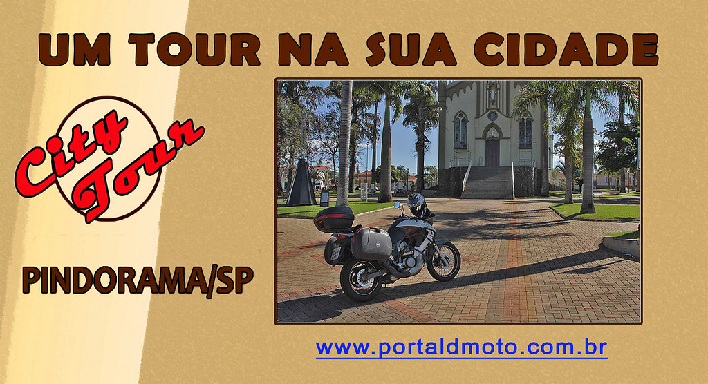 CITY TOUR = PINDORAMA-SP