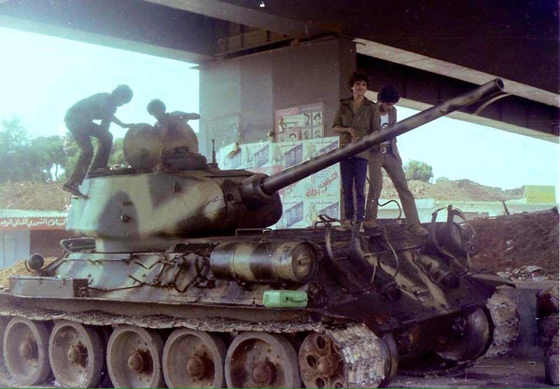 T-34-85-czech-production-lebanese-army-1970s-yp-1