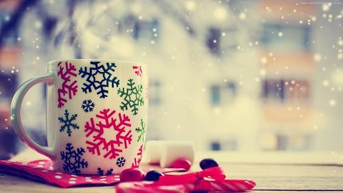 Christmas 1920x1080 cup tea winter 8184 animesh patra - Animesh wallpaper ...