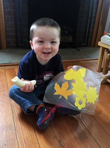 Jack and his Story Time craft