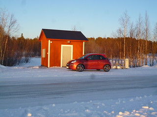 Opel-Wintertests in Schweden