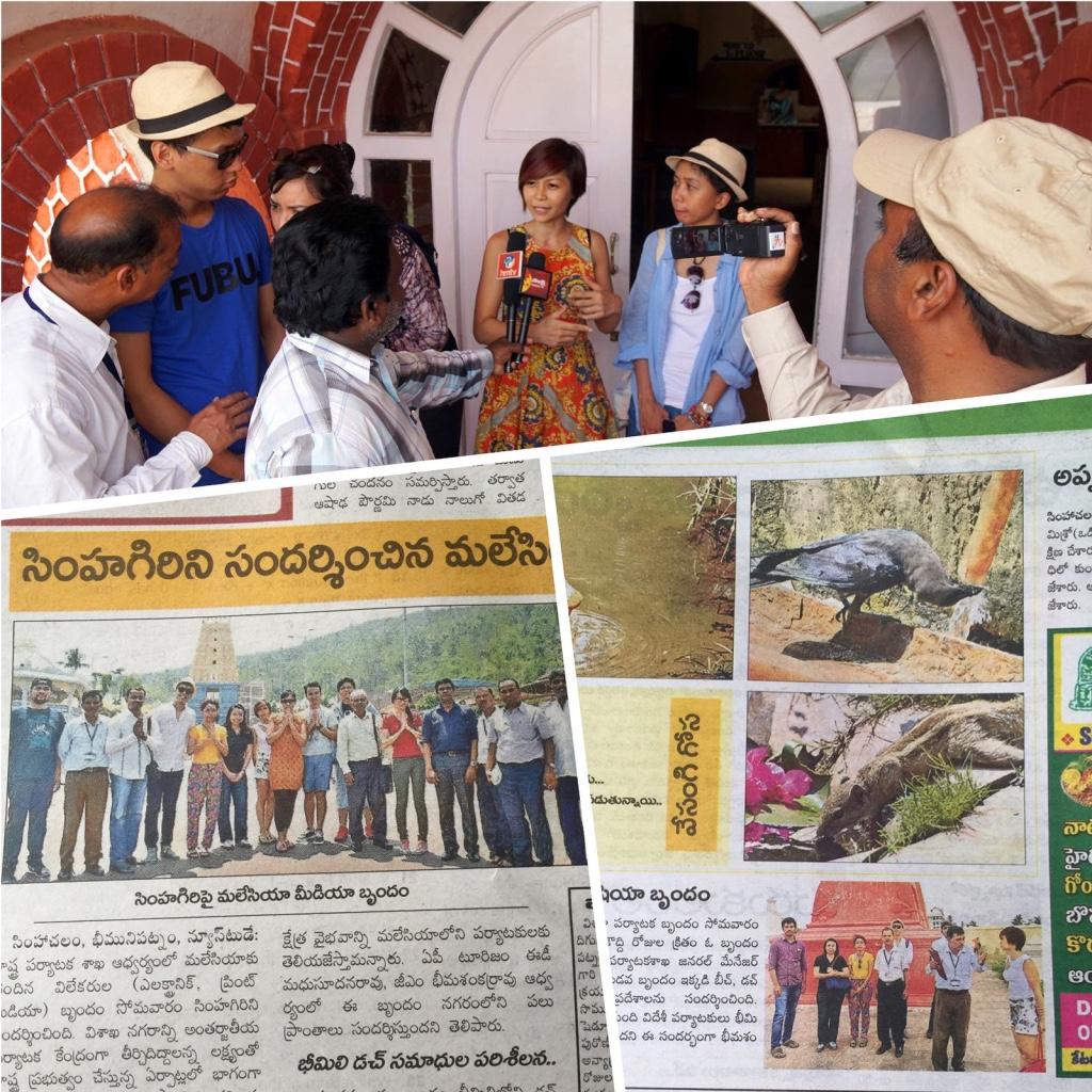Rebecca Saw - india - visakhapatnam- in the newspaper