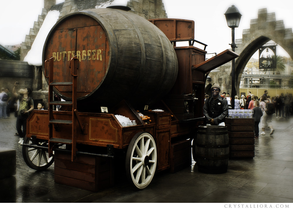 Butterbeer Cart, Hogsmeade