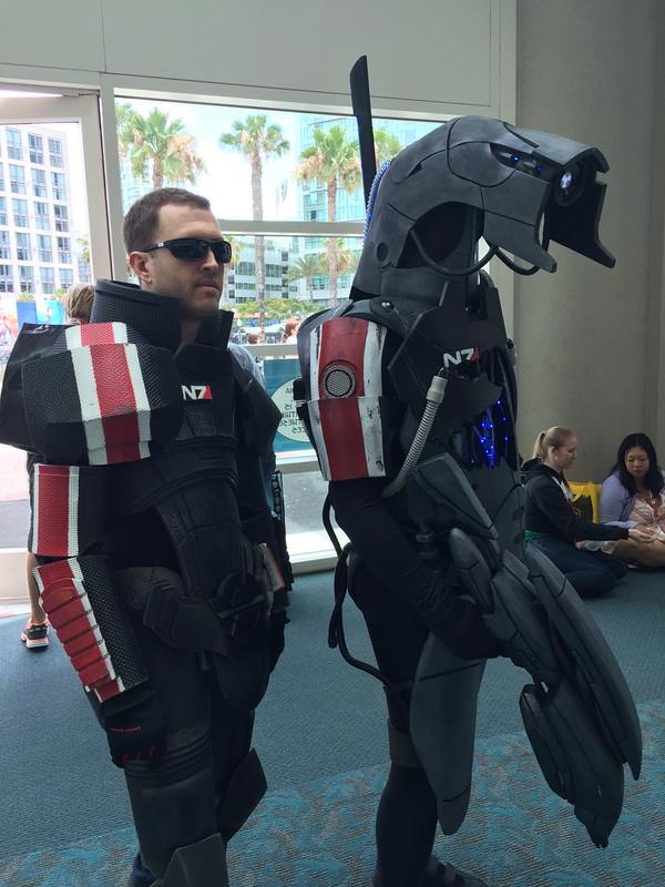 San Diego Comic-Con 2015 Cosplay - Mass Effect