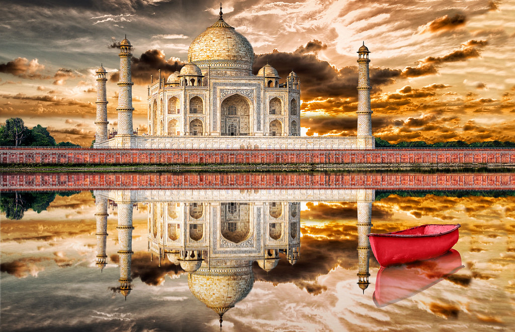 Yamuna River, Agra, Uttar Pradesh, India без смс