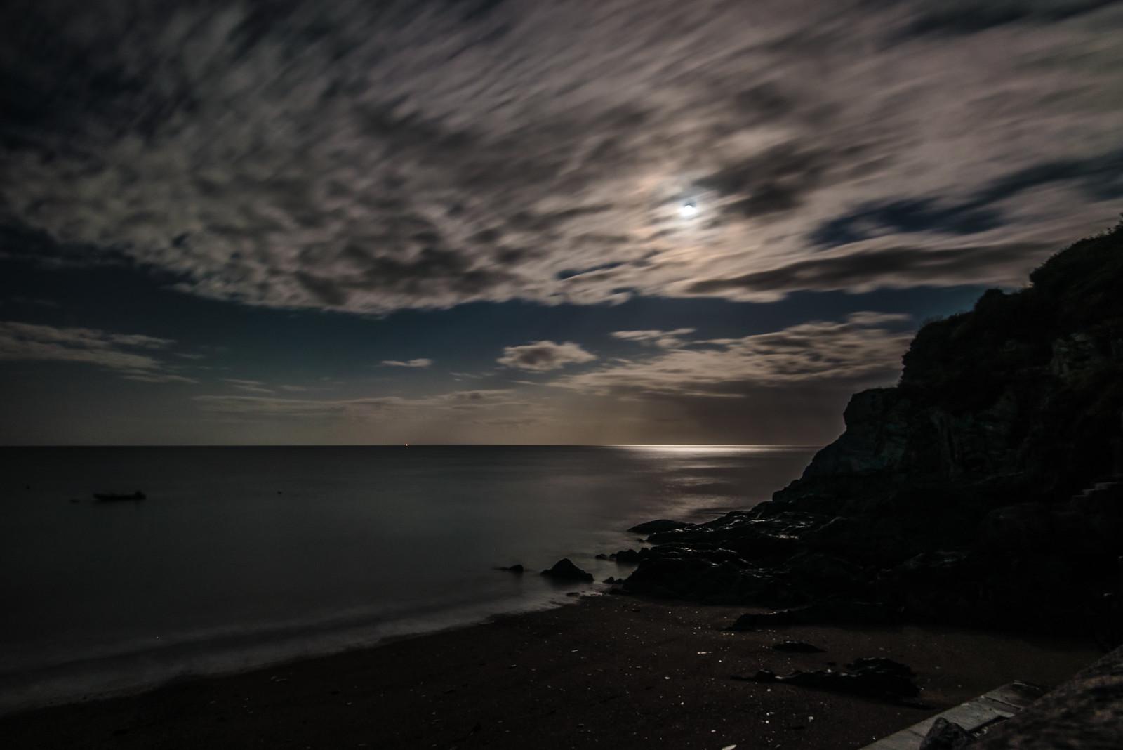 Torcross bei Nacht