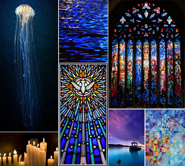 Cathedral Windows {a mosaic contest}