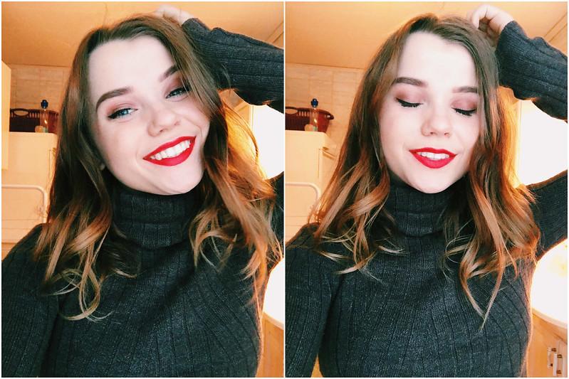 my face 14 january -17