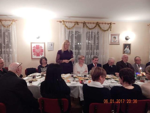 Spotkanie  Opłatkowe Grup Parafialnych w MBCZ - 2017