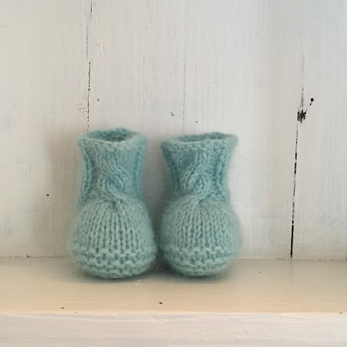 Luletti 'Suggletti's' ~ a pair of dollyknit boots